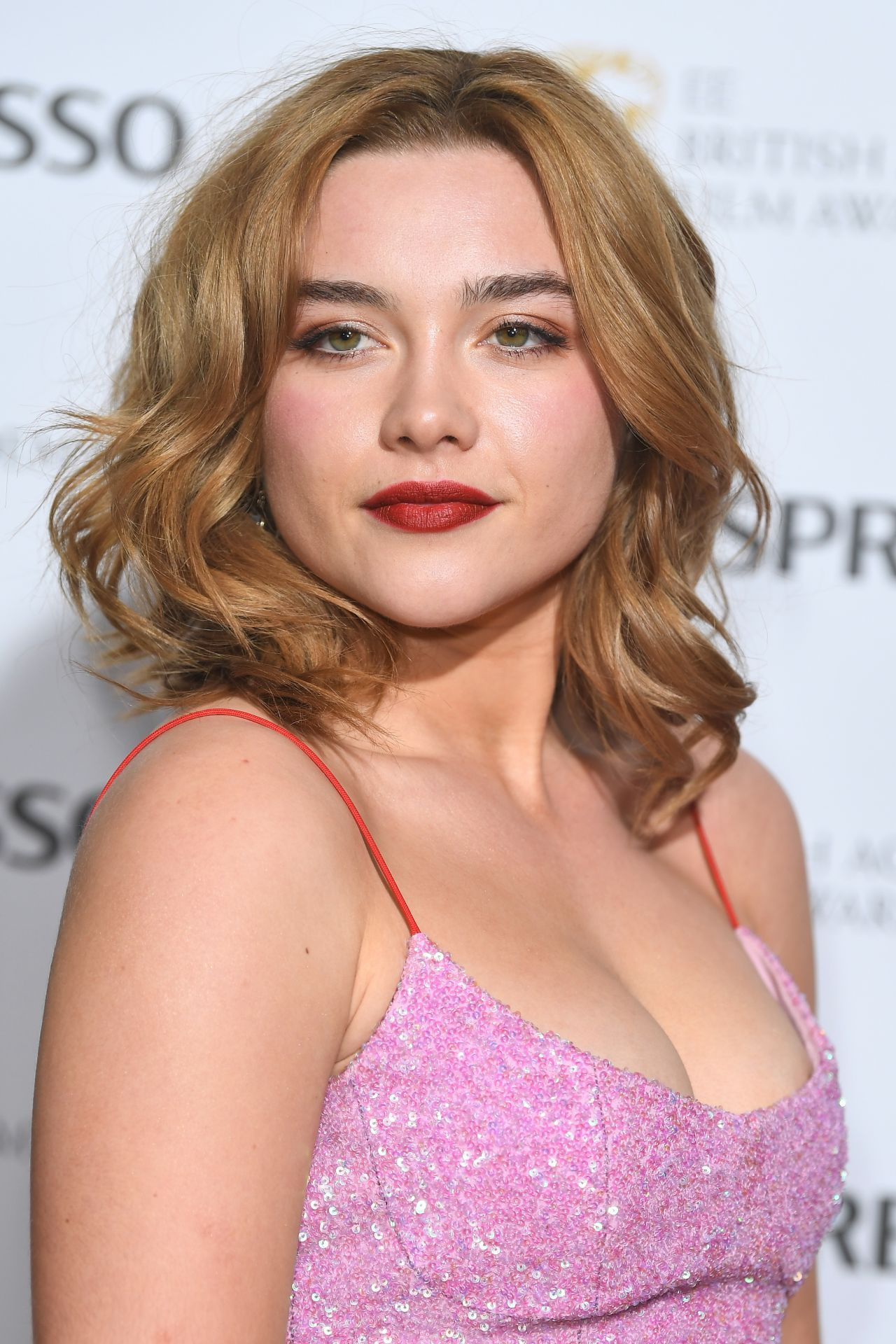 Florence Pugh to the 2018 EE British Academy Film Awards ...