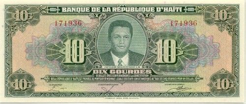 Haiti Gourdes Haitian Currency Banknotes Image Gallery