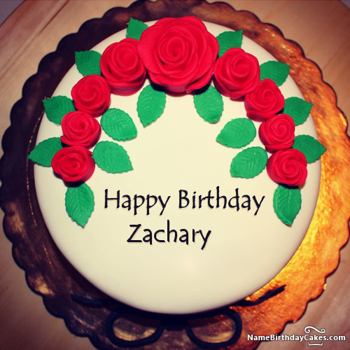 Happy Birthday Zachary Video And Images With Images Happy Birthday Cakes Latest Birthday Cake Birthday Cake For Husband