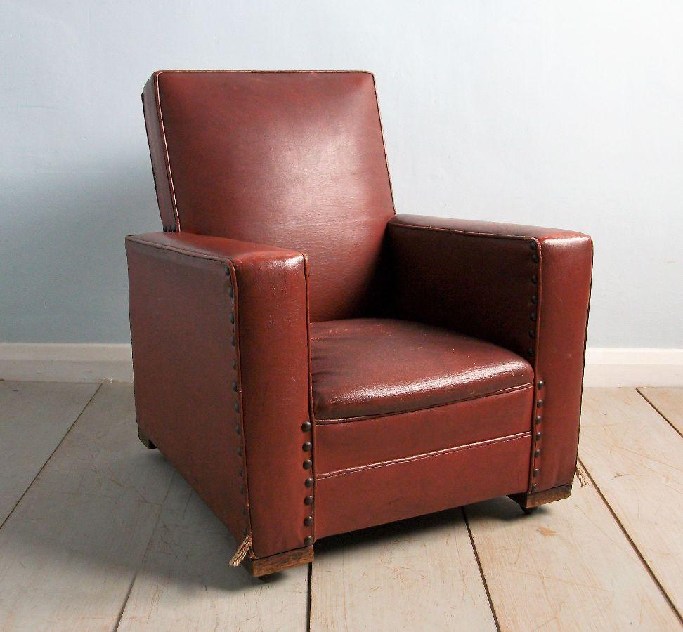 Art deco childs club chair club chairs chair small
