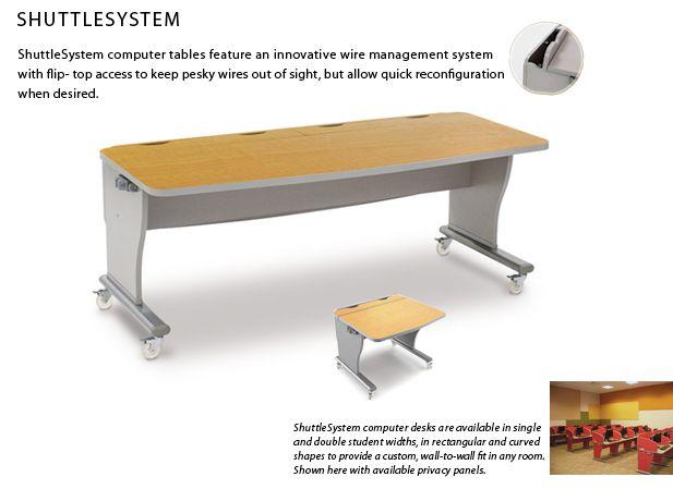For Library Tech Lab Classroom Shuttle Furniture Shuttlesystem