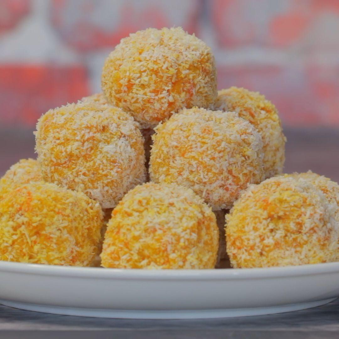 Vegan Carrot Cake Balls