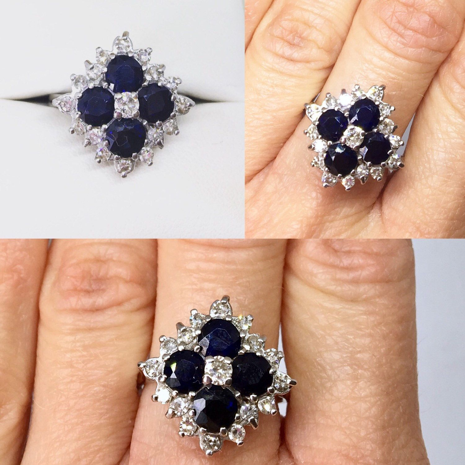 carat diamonds with one artemer engagement products set sapphire ring