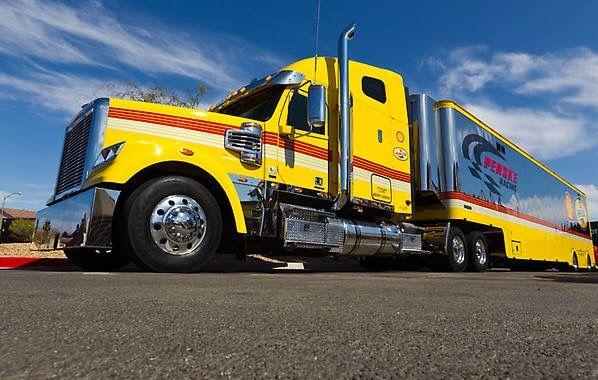 Penske Racing Transporter Hauler Shell Pennzoil Freightliner