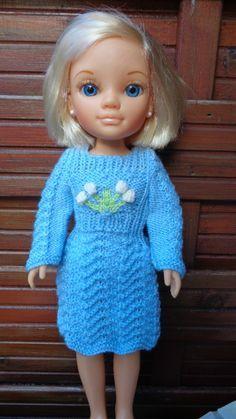 Léger coup de bleu en janvier...robe