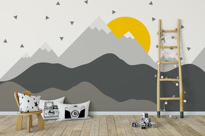Kinderzimmer Wandgestaltung So hübscht Ihr Eure Wände