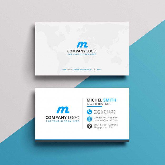 Simple Business Card Design Premium Psd Free Psd Freepik Psd Freelogo Freebusiness Business Card Design Simple Business Card Design Simple Business Cards