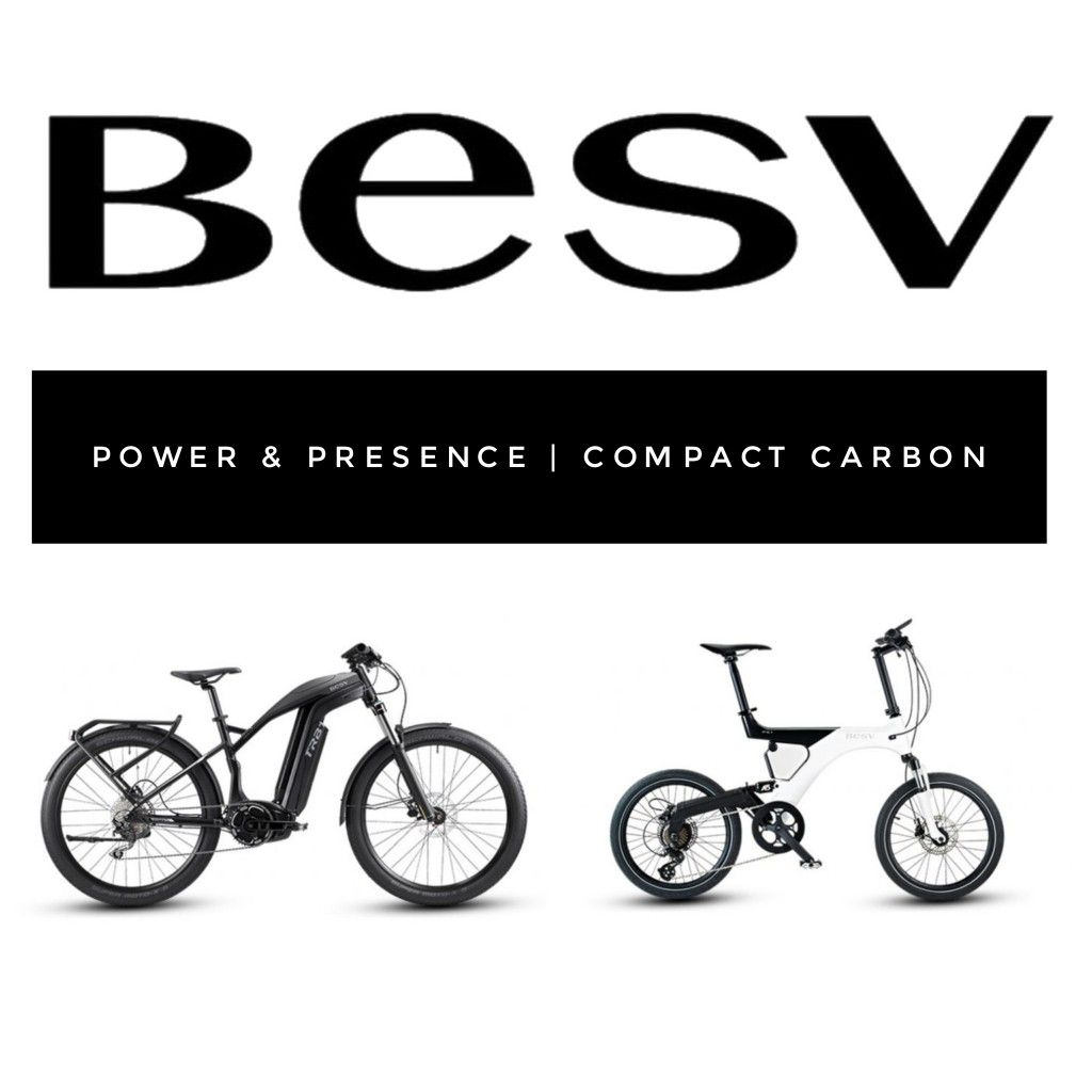 New Electric Bikes From Besv At 50cycles Com Including The Formidable Brose Powered Trb1 Urban And Compact Ultra Lightweight Besv Ps1 Dual Suspension Carbon F