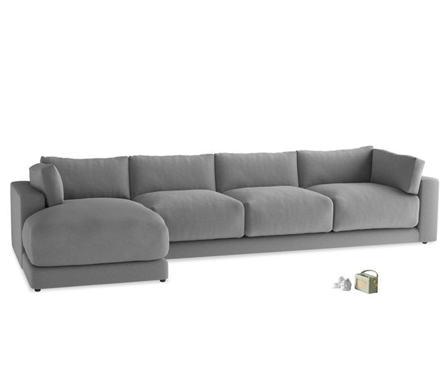 The Atticus Chaise Is A Lovely Deep Contemporary L Shaped Sofa