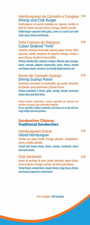 blue fish restaurant page 4 vidanta mayan and luxxe resorts