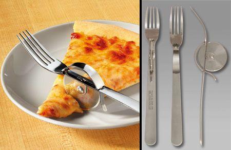 Odd Kitchen Gadgets | STRANGE KITCHEN TOOLS U0026 GADGETS   PIZZA FORK/CUTTER  ALL IN