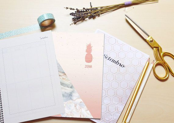 Marble Rose Weekly View Planner 2018 A5 Agenda Student Planner School Year 2017 2018 Student Planner Planner Planner Addicts