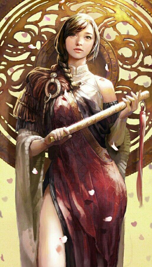 Female Bard - Pathfinder PFRPG DND D&D d20 fantasy ...