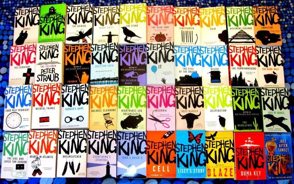 Rainbow Hodder Stoughton Stephen King Paperbacks With Images
