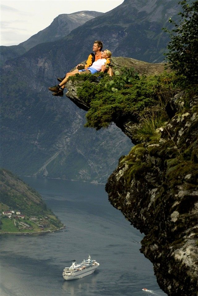 The Geirangerfjord in Norway is a popular travel destination. What's the Geirangerfjord, where is the Geirangerfjord, and what does it offer Norway visitors?