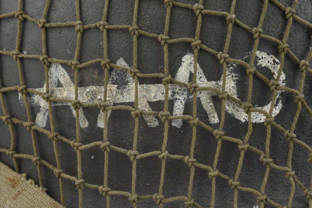 Casque américain AAAO. Coque de casque USM1, numéro de lot illisible, fermeture du jonc à l'avan — Souvenirs historiques, ordres, médailles, armes, arme blanche, duel,  pistolet, sabre, cuirasse, armet, armement, shako