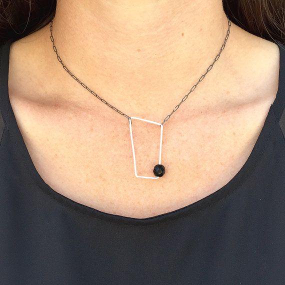 moderne halsketting