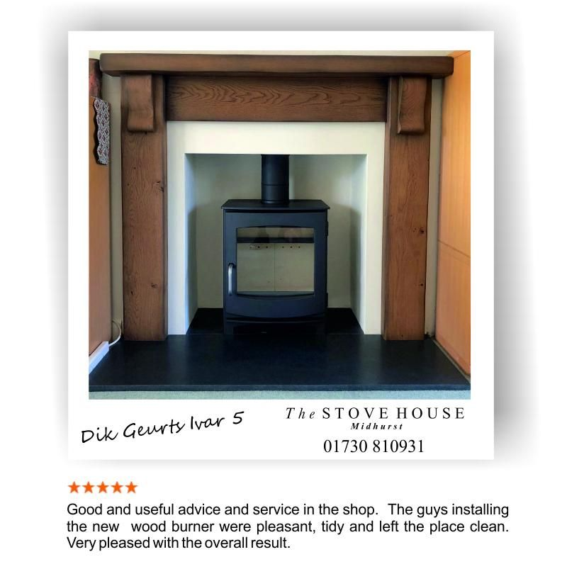 The Dik Geurts Ivar 5 Wood Burner Installation With Solid Oak Fireplace Surround Slate Hearth All Supplied Fitted B Wood Burner Oak Fireplace Slate Hearth