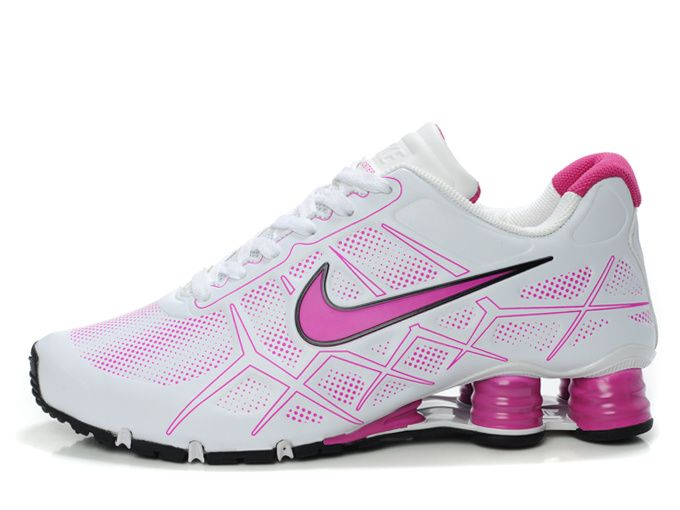 low priced 42d17 78145 pink nike shox   Nike Shox -Turbo12 Women White-Pink  Nike Shox Turbo-022   -  78.88