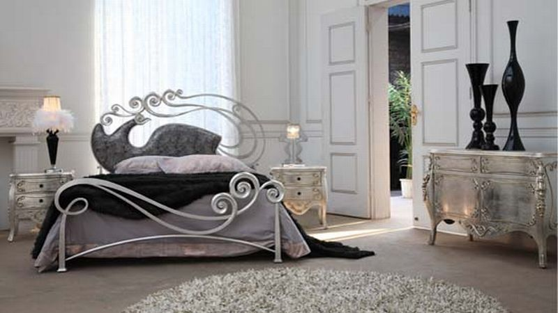luxury-metal-bed-Phoenix-by-Stylish Home Pinterest Bed