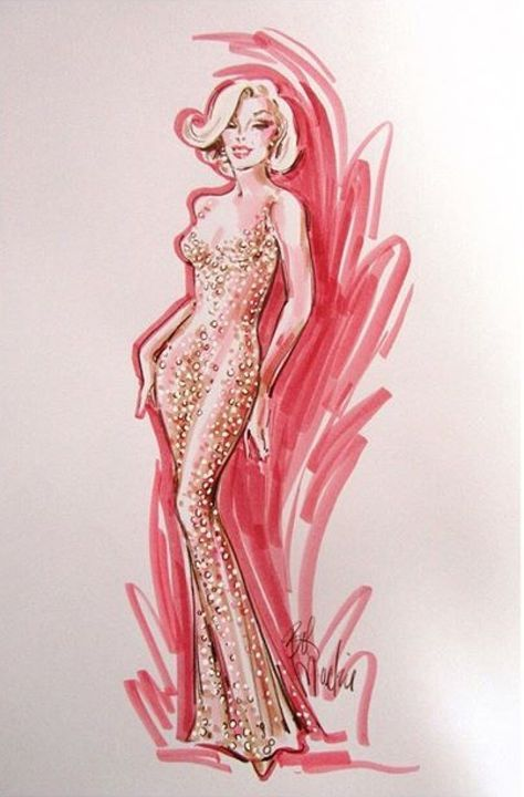 Photo of Fashion Sketches Jeans Marilyn Monroe 70 Ideas