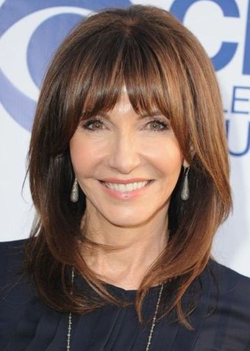 haircuts bangs and layers over 50 | 50 Best Hairstyles for Women Over 50 | Medium hair styles ...