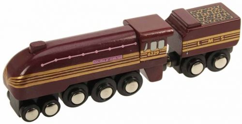 Duchess Of Hamilton Train Bigjigs Wooden Train Bigjigs