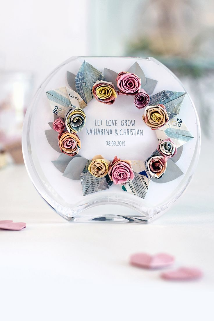 Photo of Three beautiful DIY money gifts for the wedding