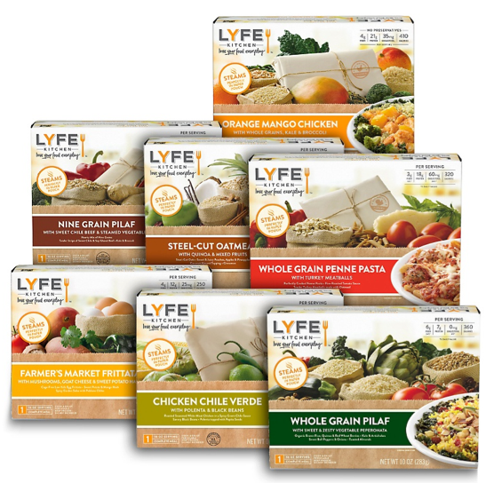 Lyfe Kitchen Frozen Meals Nutrition