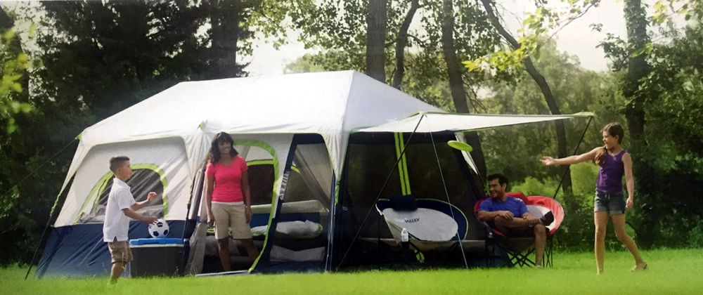 New C& Valley 10 Person 60 Sec Instant Setup Tent Dome C&ing Water Resistant : instant set up tents - memphite.com