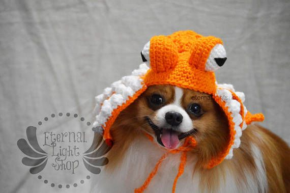 Any Sizes Colors Pet Octopus Kraken Hat Beanie Xs Xl Dog Star Wars Costume Dog Costumes Funny Diy Dog Costumes