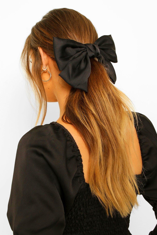 BALLERINA easter summer big large skinny schoolgirl style OVERSIZED spring baby bow nylon headband hair clip newborn toddler girl
