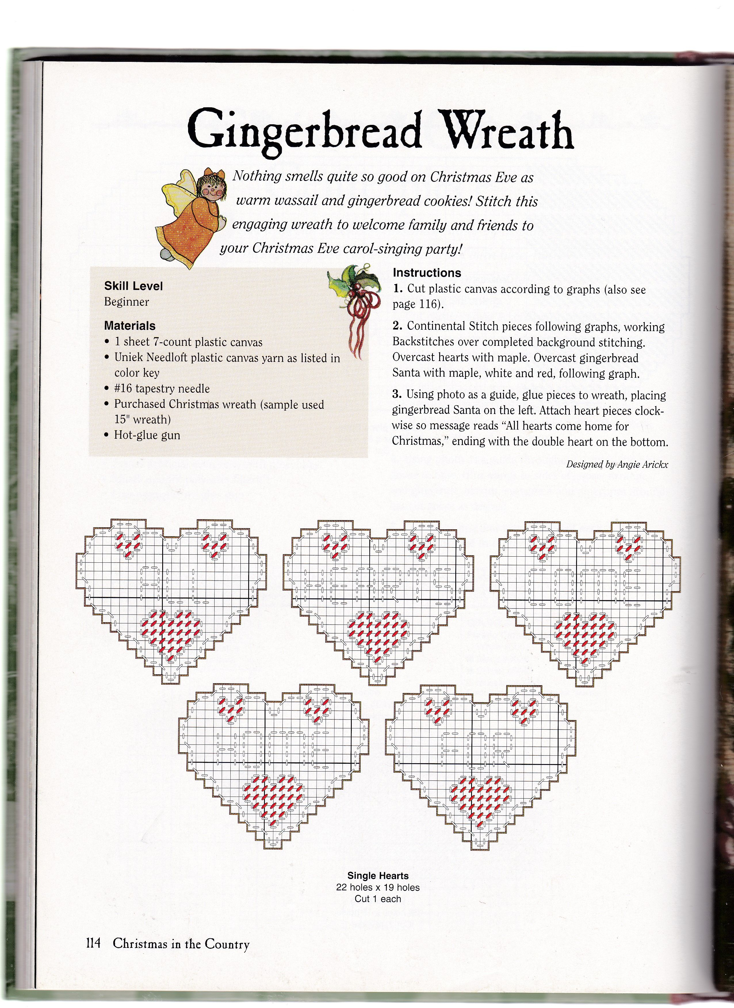 GINGERBREAD WREATH by ANGIE ARICKX 2/3
