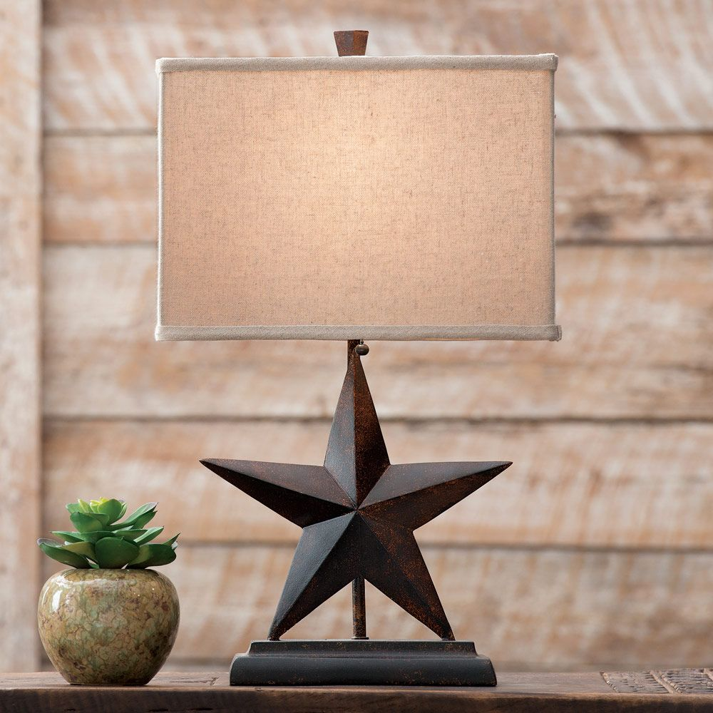 Exceptional Lone Star Table Lamp