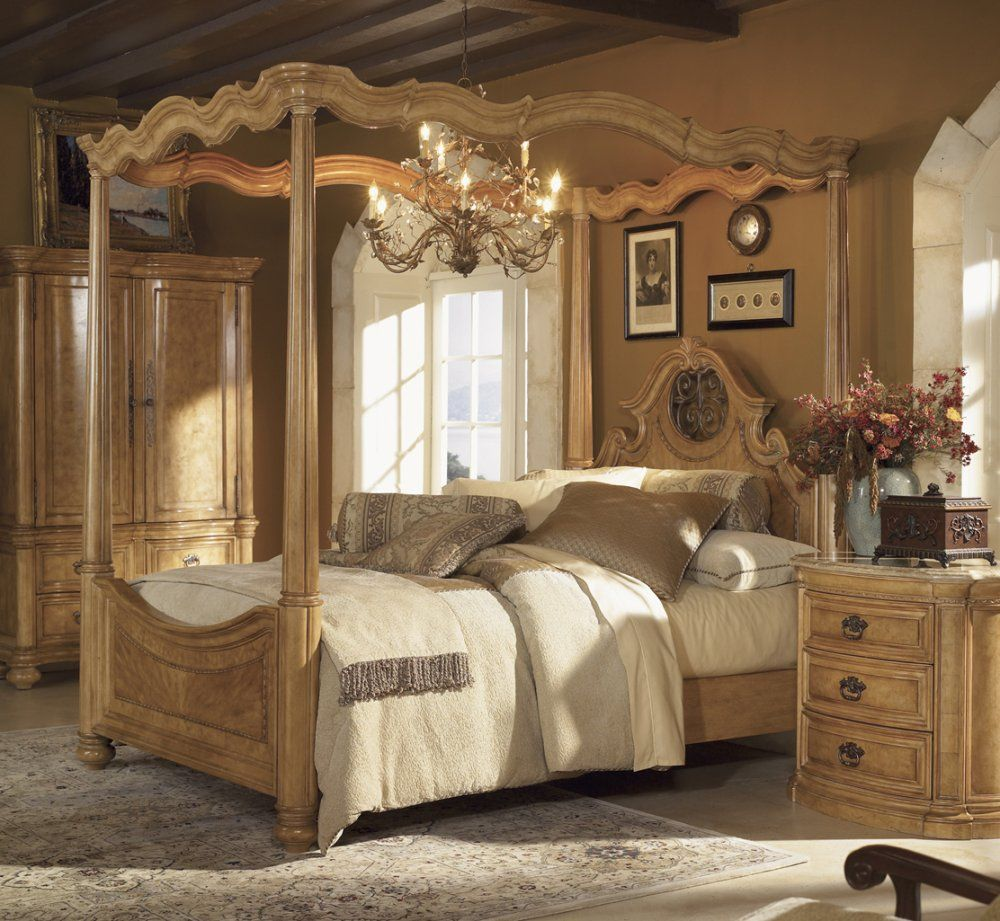 Bedroom Furniture Set In Leon French Country Bedrooms Style