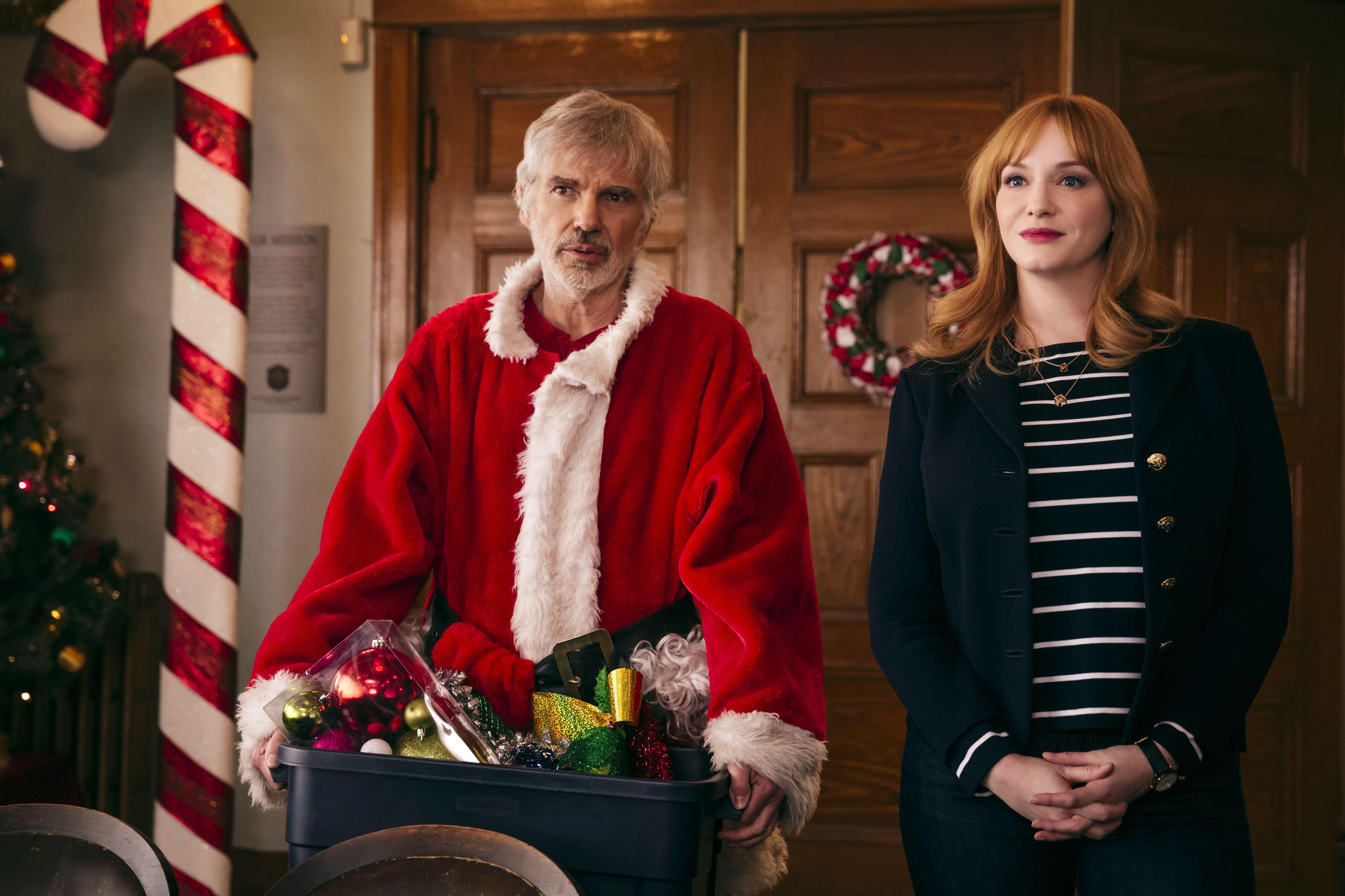 Bad Santa 2 Is Bad Santa Minus What Made It Weird And Good Bad Santa Best Christmas Movies Christina Hendricks