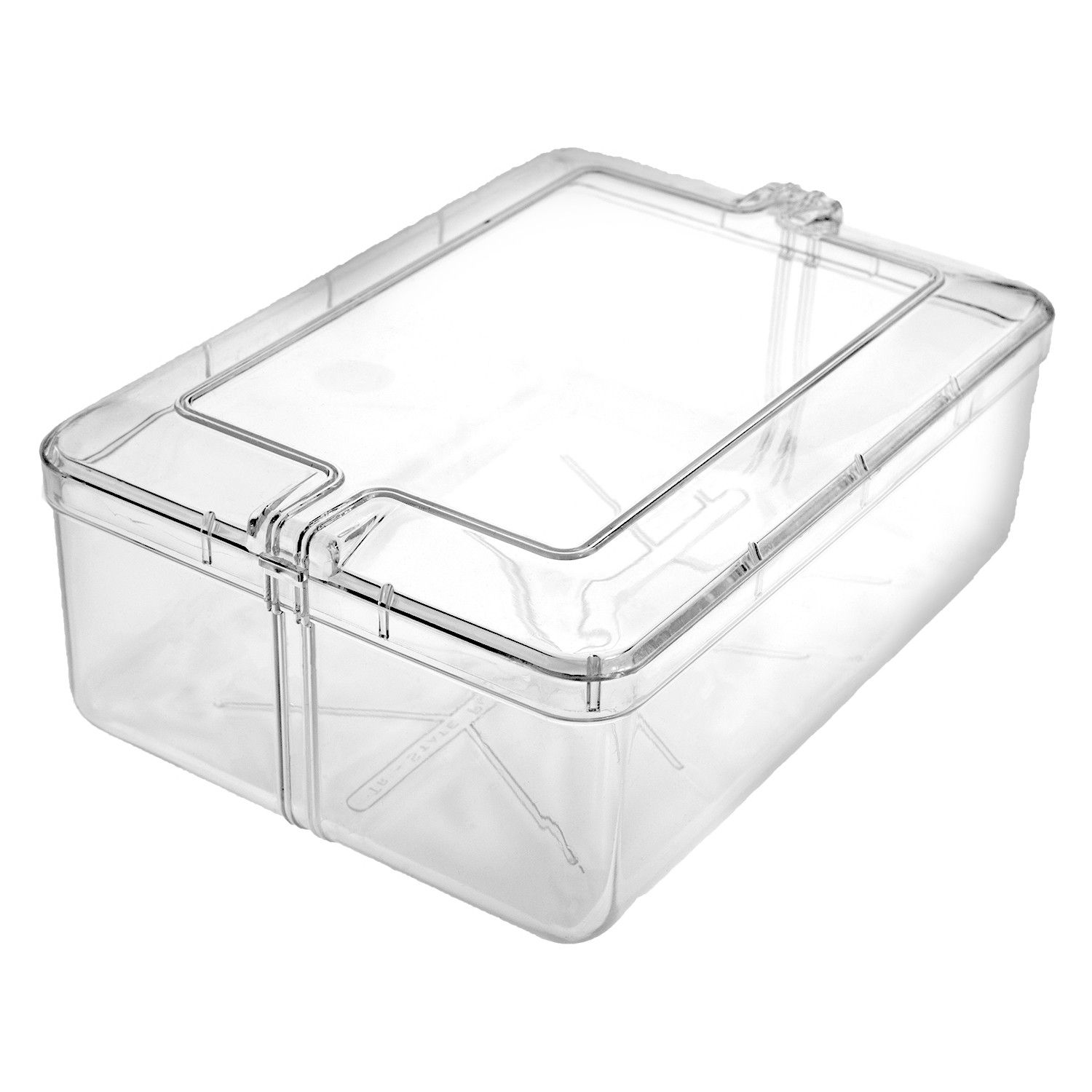 Rectangle Clear Plastic Box 42 Oz Storage Capacity 6 3 4 W X 2 3 8 H X 4 13 16 D Made Using High Quali Kitchen Food Storage High Quality Food Food Packaging