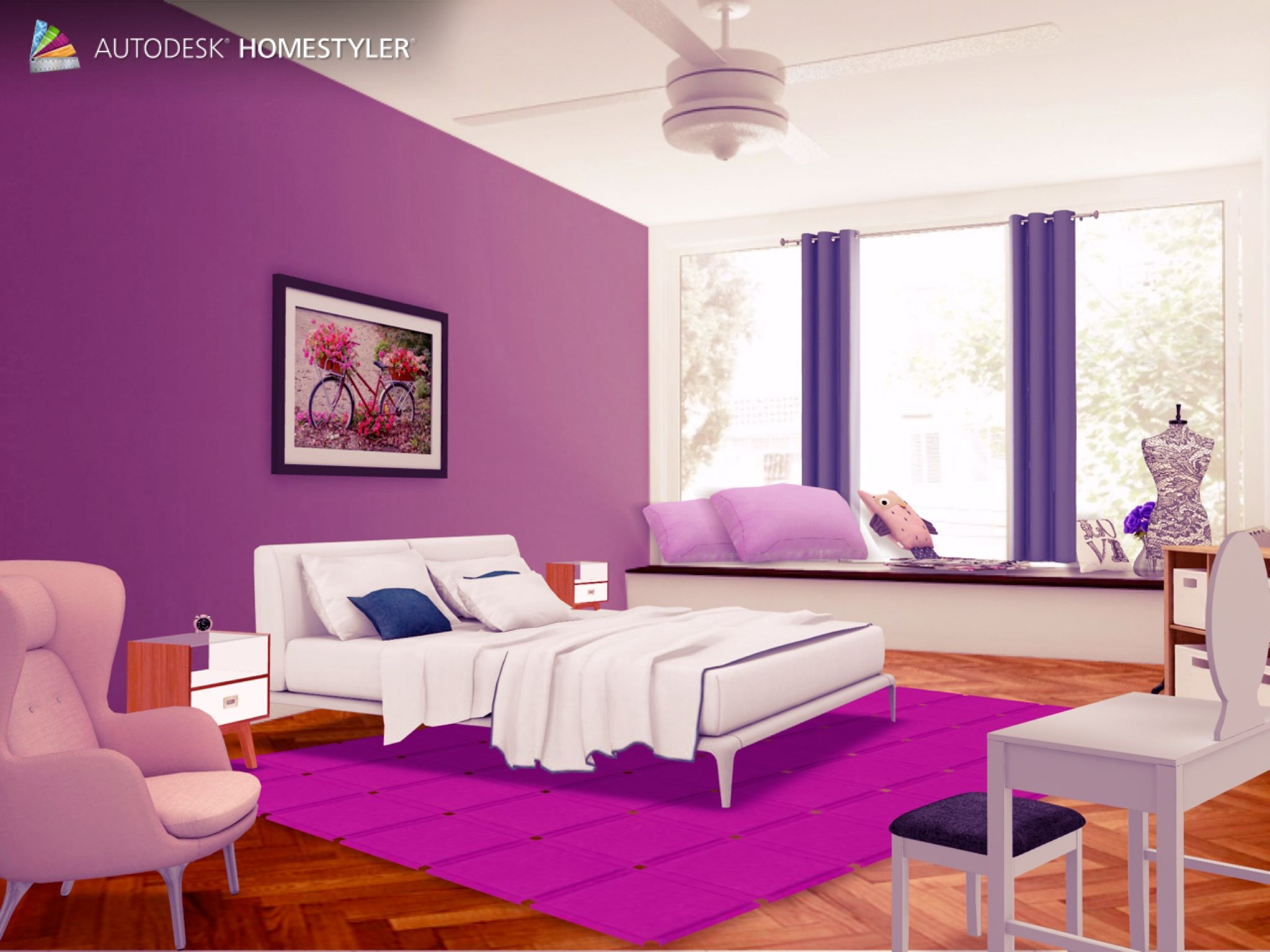 "Eche un vistazo a mi #diseño interior ""Rooms dream "" de #Homestyler http://autode.sk/1pxEoqv"