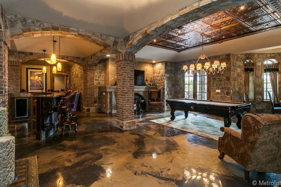 2 75 Million English Tudor Style Brick Stone Mansion In