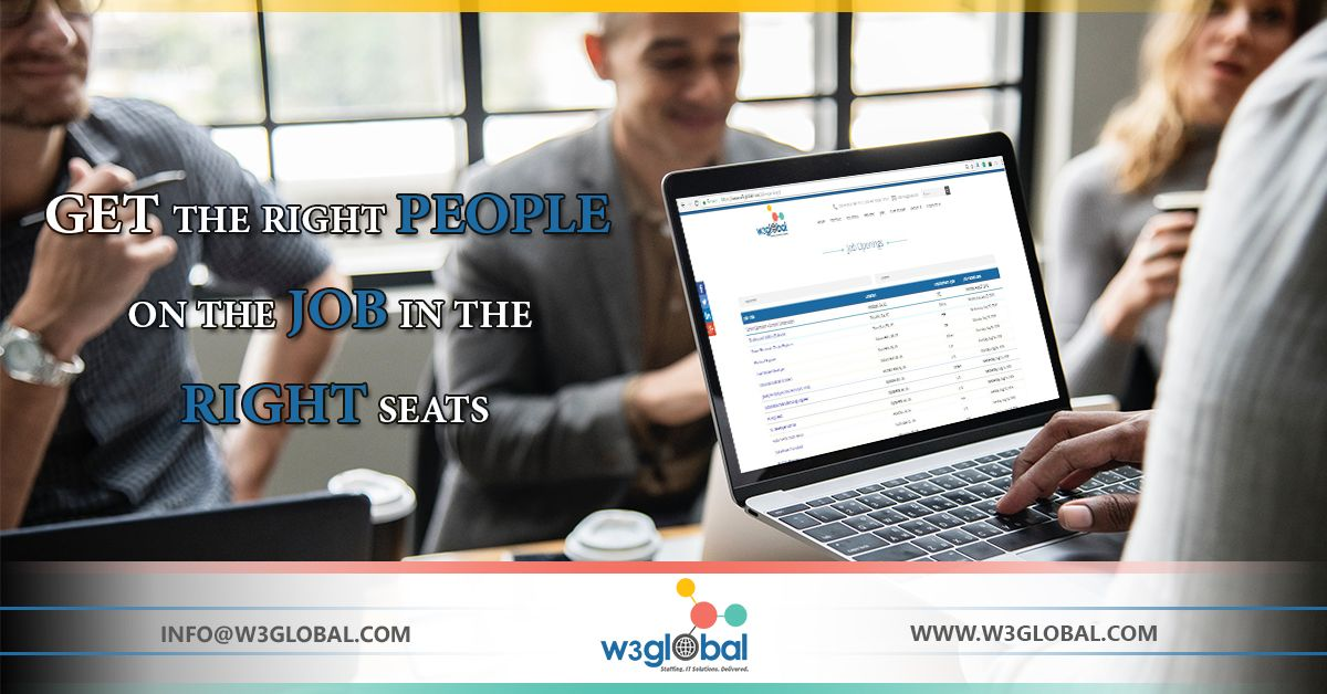 Get the right people on the job in the right seat. For
