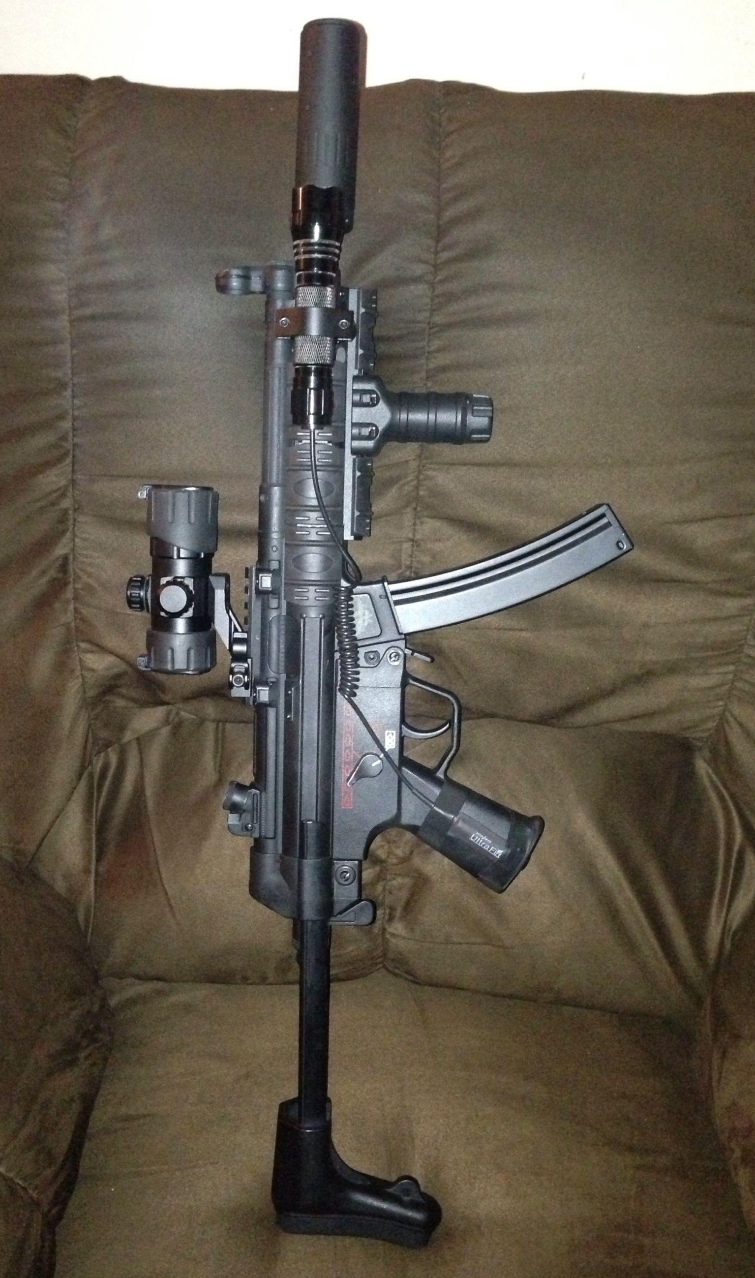My Echo 1 US MP5 airsoft gun Airsoft Pinterest