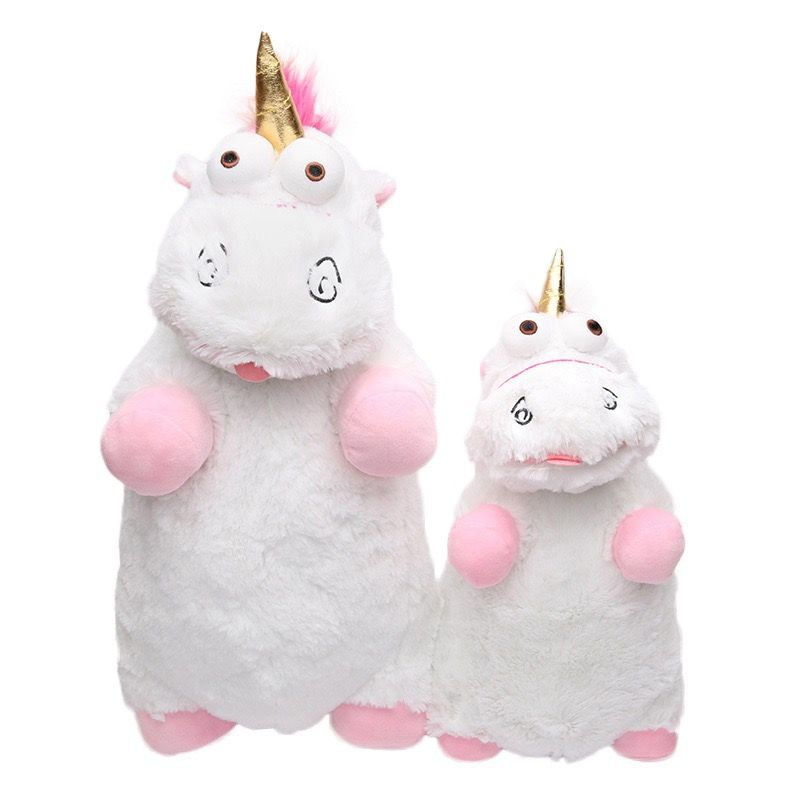 1pc Baby Toy Despicable Me Fluffy Unicorn Plush Toys Cute Juguetes