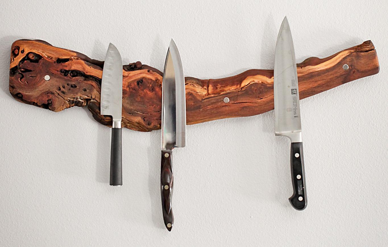 Magnetic Knife Rack With Images Knife Rack Magnetic Knife