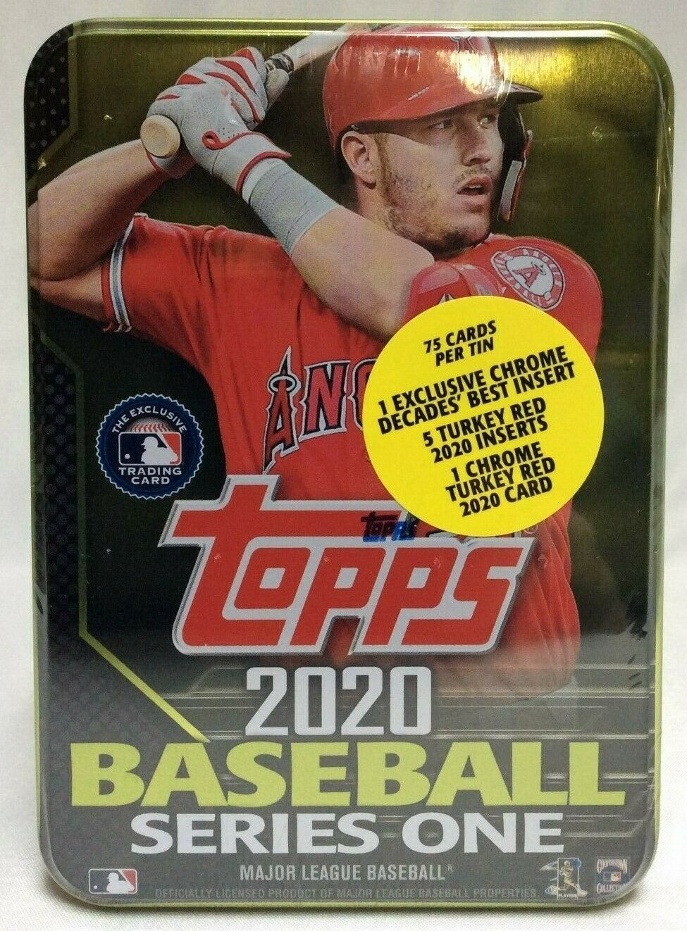 2020 Topps Series 1 Collectible Tin Box Sold Out Walmart Mike Trout L A Angels Ideas Of Mike Trout Mike In 2020 Mike Trout Baseball Series Baseball Cards For Sale