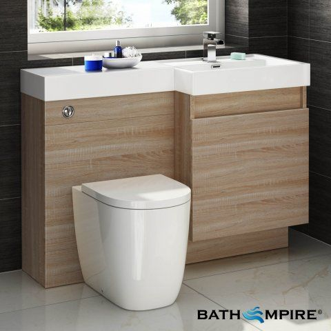 Light oak combined vanity unit toilet and basin 1206x880mm light oak combined vanity unit toilet and basin 1206x880mm bathempire aloadofball