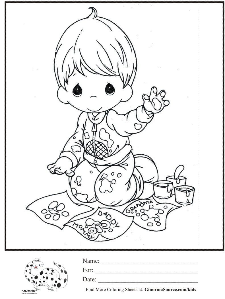 Pin by stacey fotheringhame on coloring books precious moments