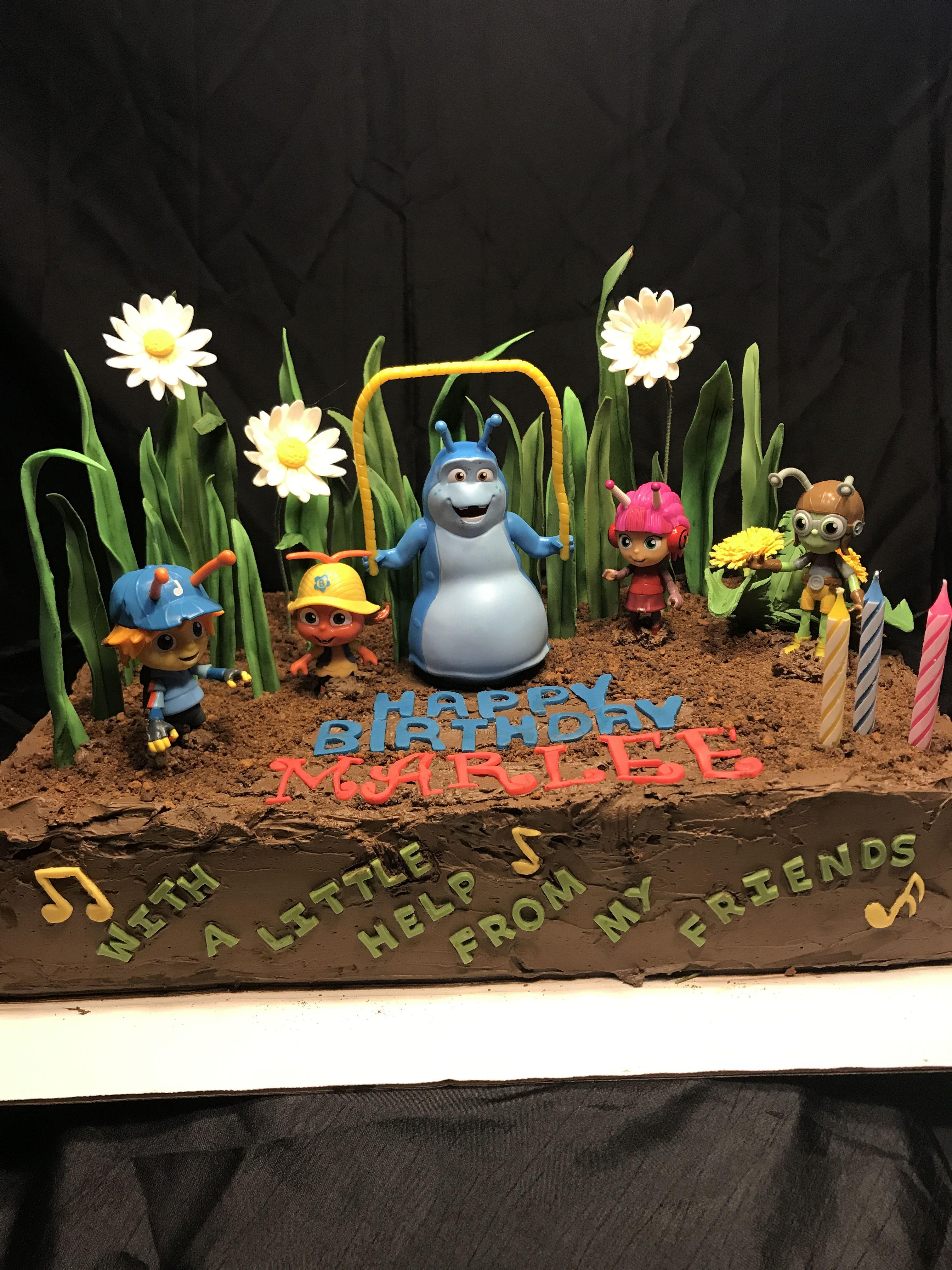 Beat Bugs Bug Birthday Cakes 2nd Birthday Party Themes