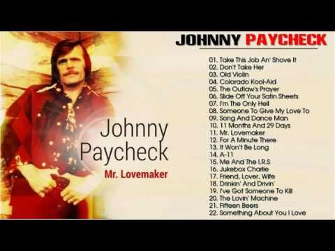 Johnny Paycheck Johnny Paycheck Greatest Hits L The Best Of Johnny