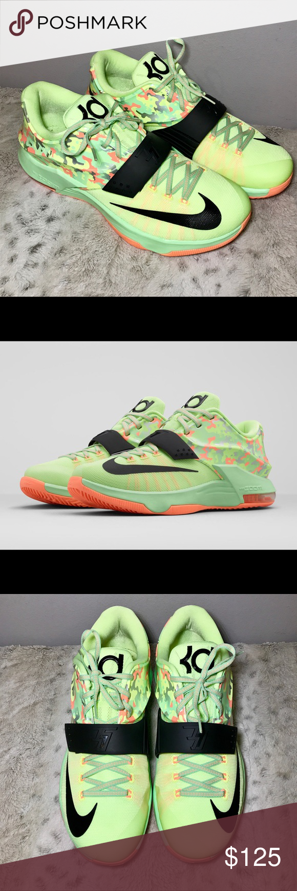 finest selection 26955 62cb4 🔥Nike KD Easter 7 Liquid Lime Camo Men s 13 🔥Nike KD Easter 7 Liquid