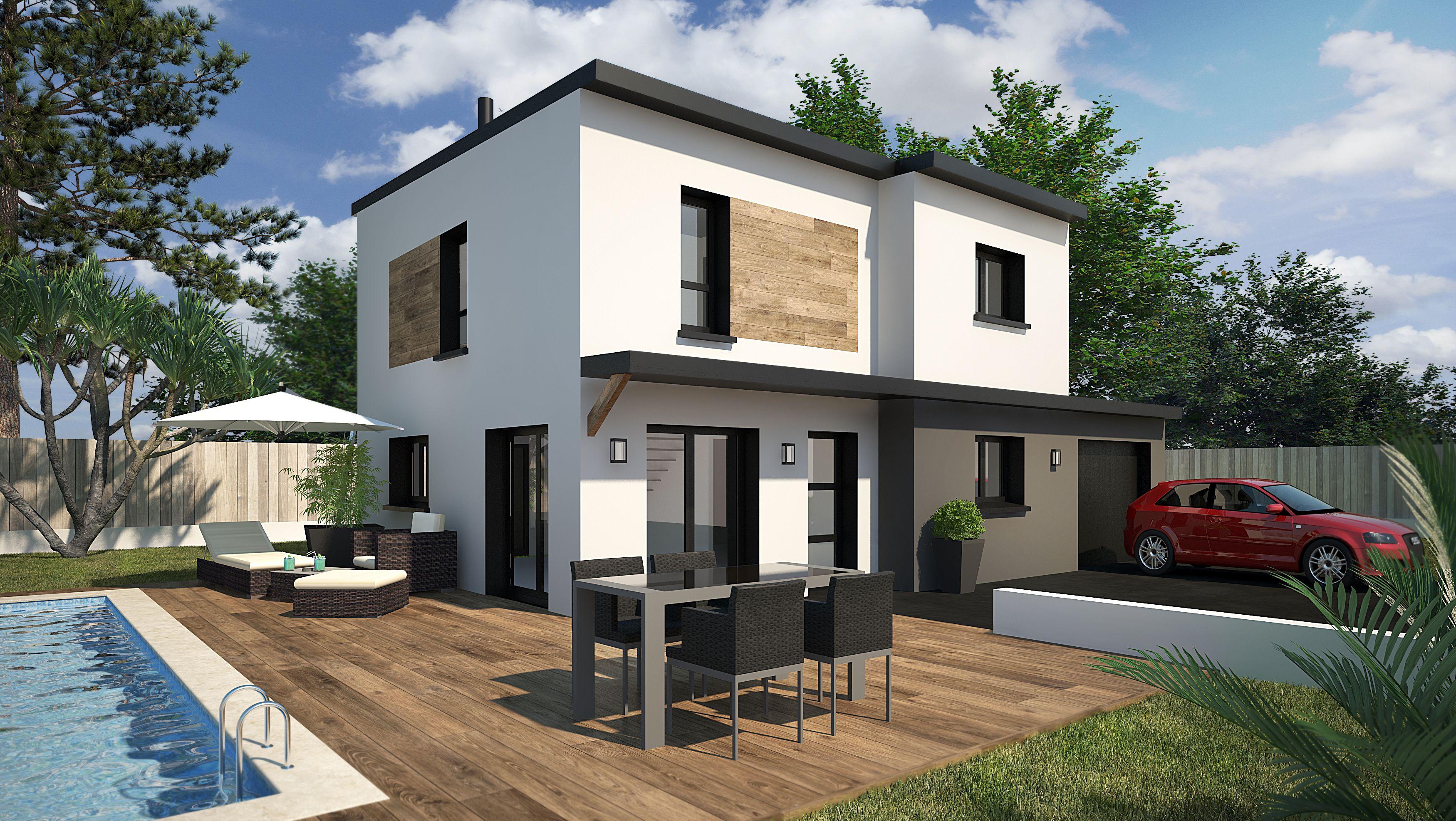 Modèle de maison : GAVRINIS MONO | Mezzanine, Maisons contemporaines ...